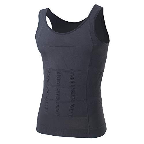 fb8ec915bc TOPTIE Men Slimming Body Shaper Compression Shirt Slim Fit Shapewear Mens  Shirts Undershirts Bulk Sale