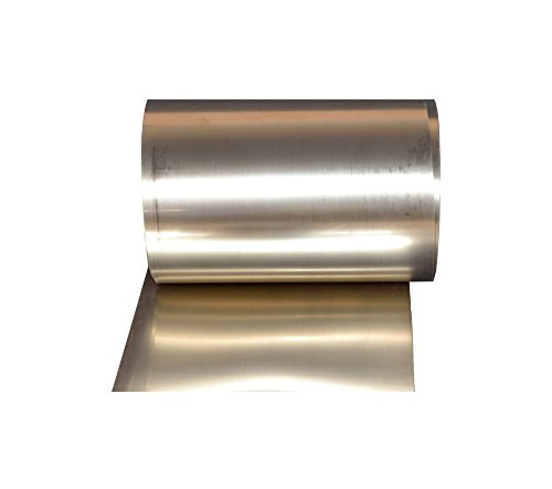 - Titanium foil Size: 0.20 x 200 x 800 mm. roll Sheet Grade 1