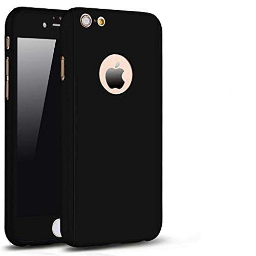 Money Protector Dollars Phone - Aulzaju iPhone 6/6s Full Body Case,iPhone 6 Black Front Back Case with Tempered Screen Protector for iPhone 6s Sleek Shockproof Cover