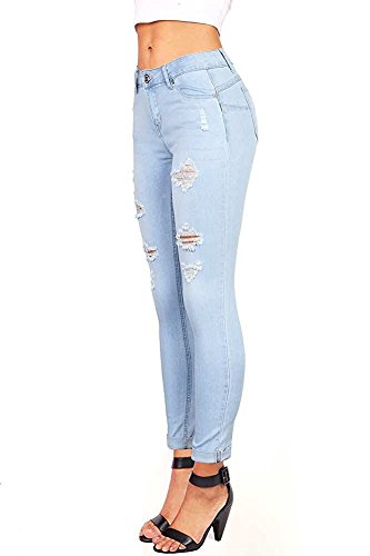 Femme Fueri Jeans Bleu Fueri Jeans 4HwqUz