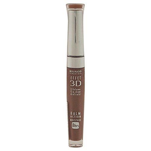 3D Effet Lip Gloss - # 33 Brun Poetic Bourjois Lip Gloss Women 0.19 oz (Pack of 5)