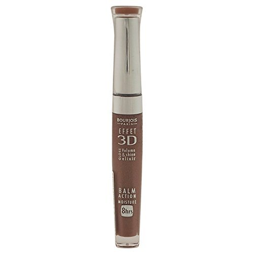3D Effet Lip Gloss - # 33 Brun Poetic Bourjois Lip Gloss Women 0.19 oz (Pack of 5) by Bourjois