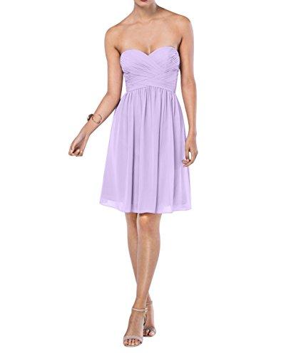 Abendkleider mia La Einfach Partykleider Lilac Brau Linie Langes ...