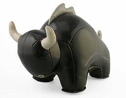 Zuny ZUB0029BLK Bullo The Bull Bookend44; Black