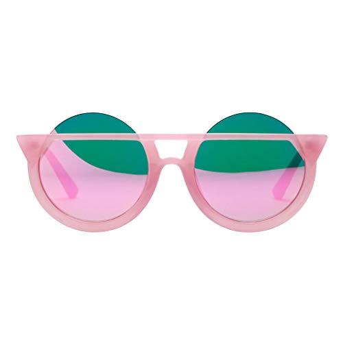 - Fashion Men Womens Retro Vintage Glasses TANGSen Outdoor Casual Cat Eye Round Frame UV Glasses Sunglasses