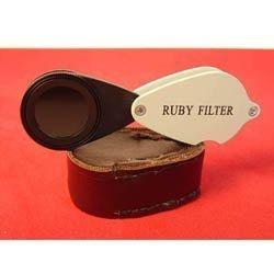 - Ade Advance Optics Ruby Filter for Gem Testing, Stone Testing