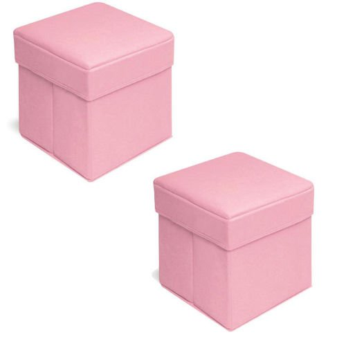 folding-storage-seat-with-lid-bedroom-stool-playroom-square-ottomon-set-of-2-pink