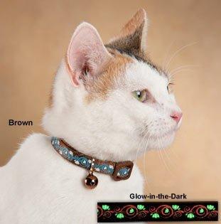 Petmate Cat Glow Collar, Posh Pink, 3/8