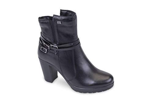 Boots Women's 49501 Valleverde Donna Scarpe Nero Stivaletti xqOIw