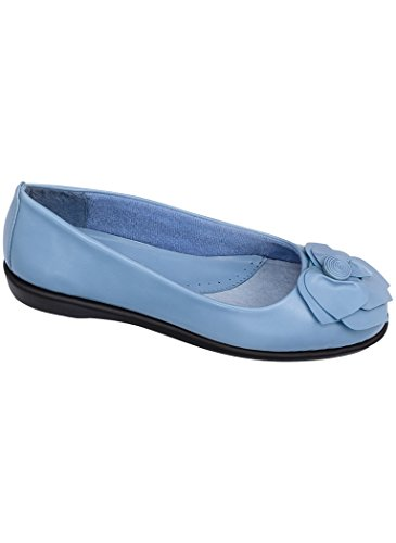 Donna Adulto Angelo Flex Rosa Piatto Sintetico Blu