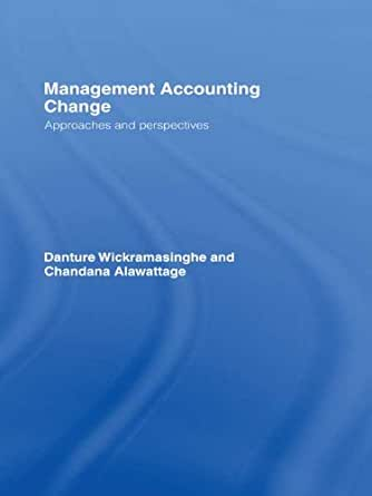 Amazon.com: Management Accounting Change: Approaches and