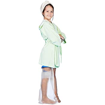 Amazon Com Kids Leg Cast Cover With Waterproof Seal Protection