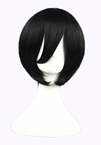 LOUISE MAELYS Japan Anime Characters Short Straight Wig Cosplay Costume Hair