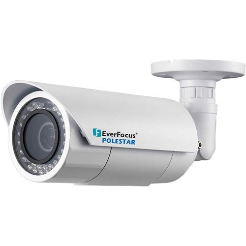 EVERFOCUS Electronics CORPORAT | EZN7221, 2 Megapixel Full HD Ultra Low Star Light Polestar Outdoor Bullet IR, IP RJ45 Connection Network Camera, 3.3-10mm Lens