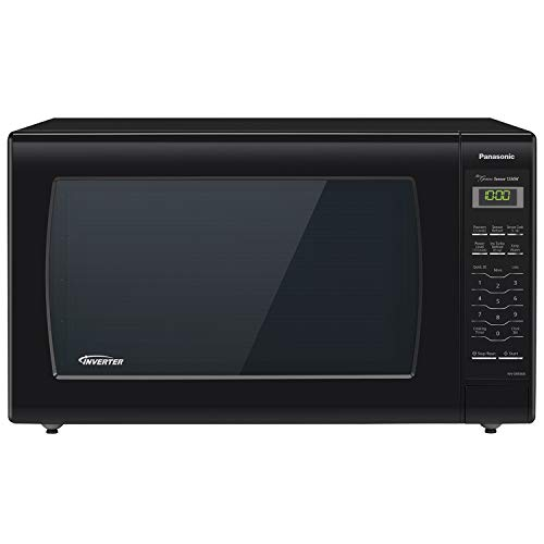 Panasonic Microwave Oven NN-SN936B Black Countertop with Inverter Technology and Genius Sensor, 2.2 Cu. Ft, 1250W ()