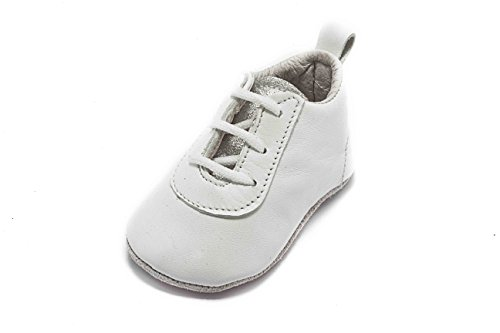 ABA Sneaker, Baby Jungen Krabbelschuhe & Puschen Weiß Bianco