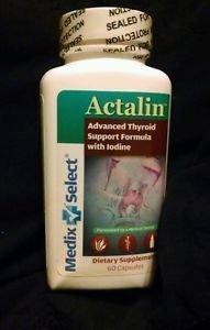 Complément alimentaire Formule Actalin Soutien de la thyroïde 60 Capsules