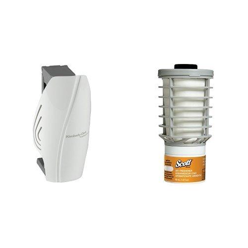 Scott Automatic White Air Freshener Dispenser With 6 Citrus Refills