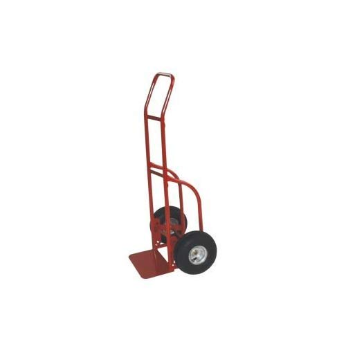 - Milwaukee Hand Trucks 47112 Flow Back Handle Truck with 10-Inch Solid Puncture Proof Tires