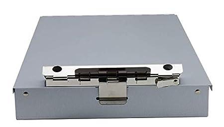 Letter size 8.5 x 12 Inches Black Saunders Recycled aluminum cruiser-mate Storage Clipboard con doppio vassoio portaoggetti