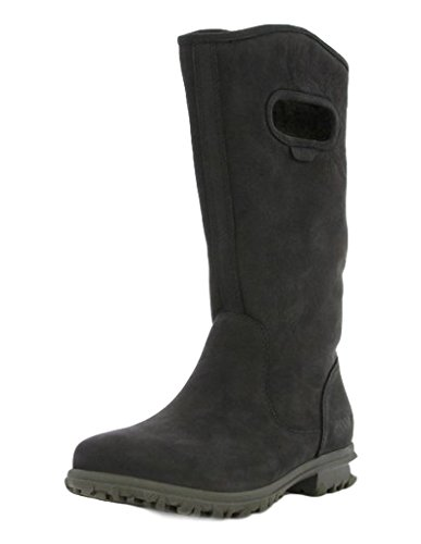 Bogs Women's Betty Tall Black Boot 10 B (M) by Bogs
