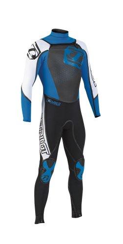 JetPilot Men-s Neoprene Chamber 3/2 Full Suit (Blue, X-Large)