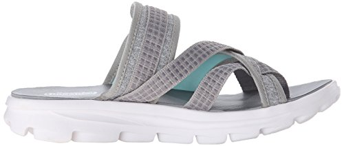 Go Performance Skechers Move Gray Walk Womens Flip Relax Flop EAqdq4rx