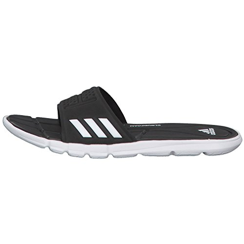 adidas Women's Adipure Cloudfoam Beach and Pool Shoes, Pink Black