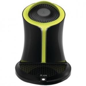 Systems Jwin Speaker (iLuv Syren Nfc-enabled Bluetooth Portable Speaker (Green). Works with all iPhones (iPhone 6, 5, 5s, 5c, 5, 4s) and all Galaxy Phones and Bluetooth Devices)