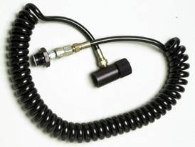 PBaller Paintball CO2 HPA Thick Coiled Remote QD ON/OFF - Invert Mini Co2
