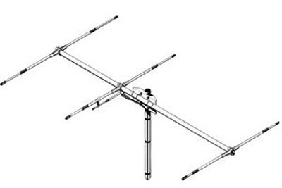 Sirio Antenna Siriosy 50-3 50-54Mhz 6 Meter Tunable 3 Elements Yagi Antenna