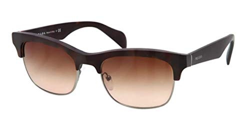 Prada PR11PS Sunglasses-HAQ/6S1 Matte Havana (Brown Gradient ()