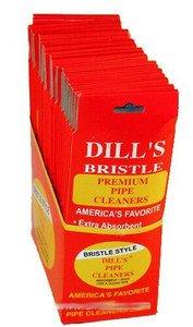 The Big Easy Pipe Accessories P860 Dills Bristle 32 Pipe Cleaners by The Big Easy Pipe Accessories