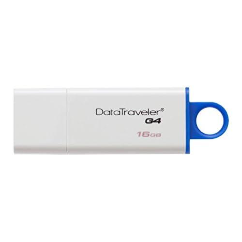Kingston Digital 16GB Data Traveler 3.0 USB Flash Drive - Blue (DTIG4/16GB )