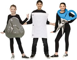 [Rock Paper Scissor Up to Size 14 Costume PROD-ID : 1927632] (Scissors Paper Rock Costume)