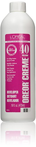L'Oreal Oreor Creme 40 Volume Developer, 16 Ounce