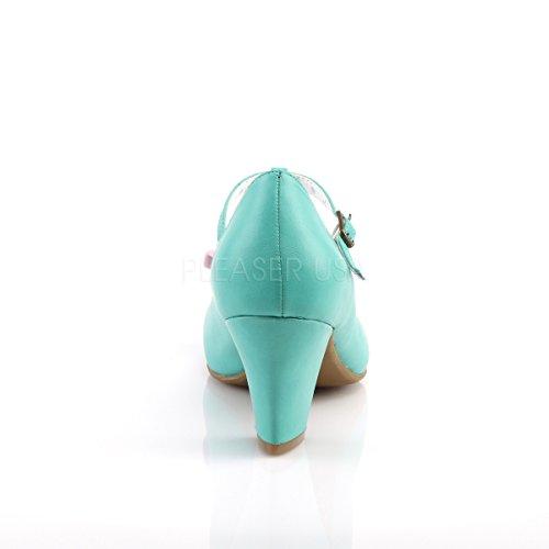 pink Pumps Couture Damen Schleife Spangen Wiggle 50 Pinup mit Teal 4xTnCq