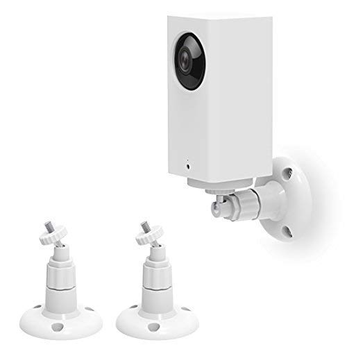 Wyze Cam Pan Wall Mount, Mrount Adjustable Indoor 360 Degree Swivel Ceiling Mount Bracket for Wyze Cam Pan 1080P, 2 Pack