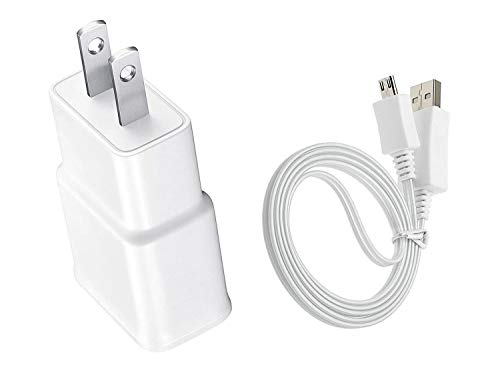 AC/DC Wall Power Charger Adapter Cord for Samsung Galaxy Tab 3 GT-P5210 10.1 Inch Tablet