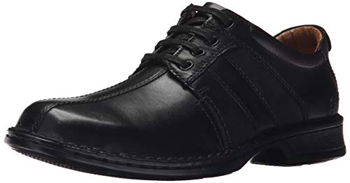 Clarks Men's Touareg Vibe Oxford,Black,8 M US