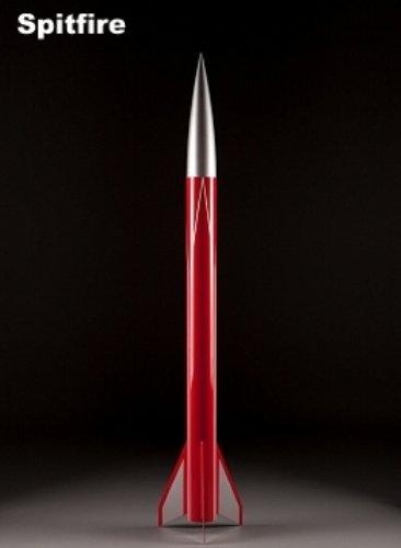 Public Missiles PML Flying Model Rocket Kit Spitfire