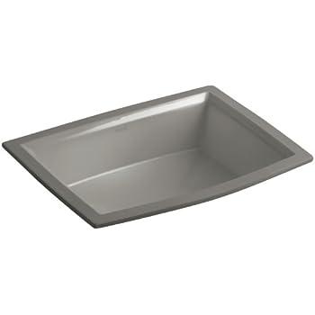 Kohler K 2355 K4 Vitreous China Undermount Rectangular Bathroom Sink 22 X 16 88 X 8 88 Inches