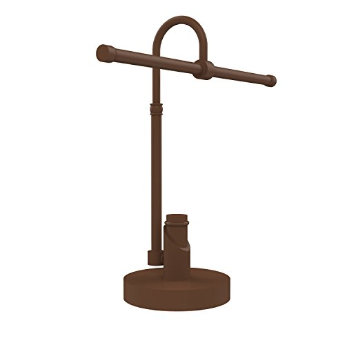 Allied Brass TR-52-ABZ Tribecca Collection 2-Arm Table Guest Towel Holder, Antique (Arm Guest Towel Holder)