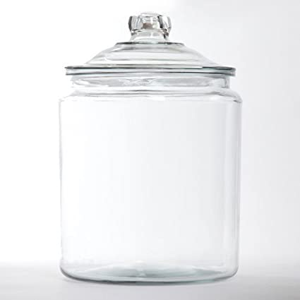 Amazon Two's Company Glass Decorative Display Jar With Lid Enchanting Glass Decorative Jars With Lids