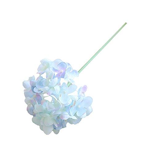 Fake Flowers,Napoo Hot Sale Artificial Silk Peony Floral Wedding Bouquet Bridal Hydrangea Decor (Blue) (Bouquet China Blue Hall)