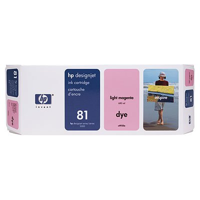 HP DesignJet 5000 42 Inch -Original HP C4935A / Nr. 81 - Light Magenta Ink Cartridge -