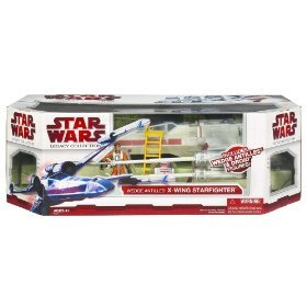 Star Wars X Wings (Star Wars Clone Wars The Legacy Collection Exclusive Vehicle X-Wing Fighter with Wedge Antilles and Droid)