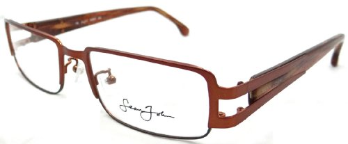 New Authentic Sean John Rx Eyeglasses Frames Sj4037 225 52x18 Rustic - Name Glasses Brand