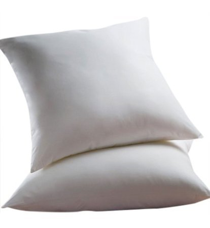 Two - 400 Thread Count - Square-Down Alternative - Euro Pillow (26 x 26)