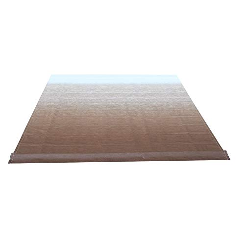ALEKO RVFAB15X8BRN23 RV Awning Fabric Replacement 15 x 8 Feet Brown (Fabric Awning Rv)